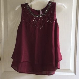 Formal sparkle top
